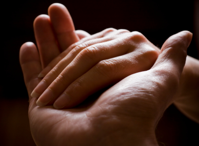 TOUCH FOR PAIN RELIEF: