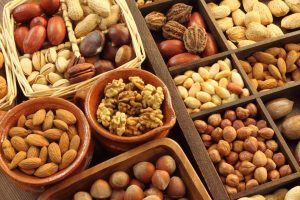 Nuts and seeds: